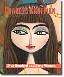 """Five Hundred and Forty Women"", New Art book by Charles Kaufman"